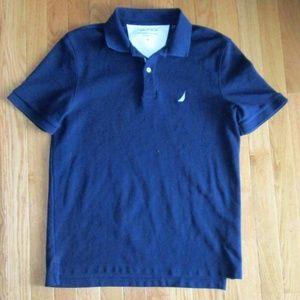 Nautica Mens Navy Polo